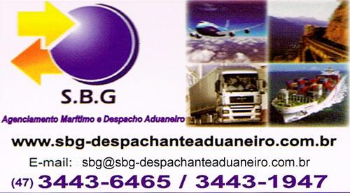 SBG Despachante Aduaneiro Itapoa SC