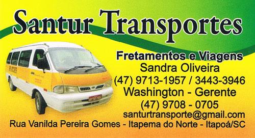 Santur Transportes em Itapoá